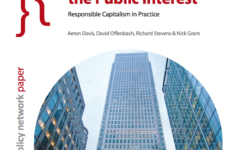Takeovers and the Public Interest: Responsible Capitalism in Practice