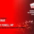 Member Webinar with Lucy Powell MP : The impact of corona virus on small businesses