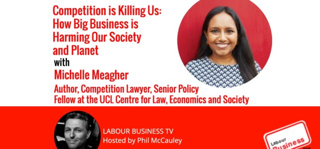 """Michelle Meagher – """"Competition is Killing Us: How Big Business is Harming Our Society and Planet – and What to do About it"""""""