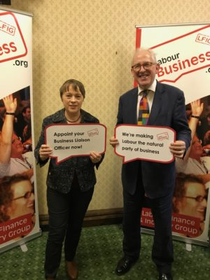 Maria Eagle MP supporting the launch of the BuLO.