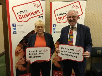 Angela Eagle MP supports the Labour Business BuLO initiative