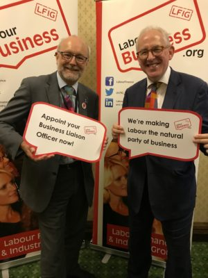 Alex Cunningham, Shadow Pensions Minister, supports the BuLO initiative