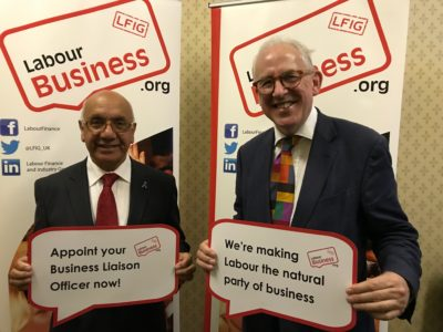 Virendra Sharma MP, supports Labour Business BuLO initiative
