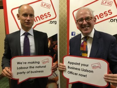 Stephen Kinnock MP, Chair of the Labour Business Parliamentary Group, supports the BuLO initiative