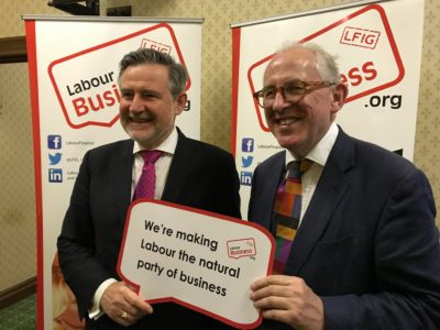 Barry Gardiner MP, Shadow Secretary of State for International Trade & Shadow Minister for International Climate Change supporting the BuLO initiative