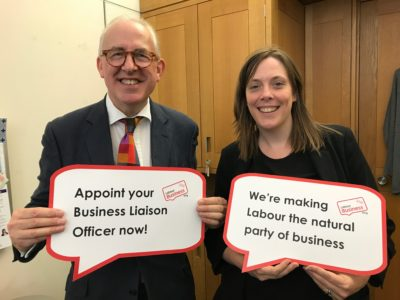 Jess Phillips MP supports the Labour Business BuLO initiative