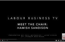 Meet the Chair of Labour Business : Hamish Sandison
